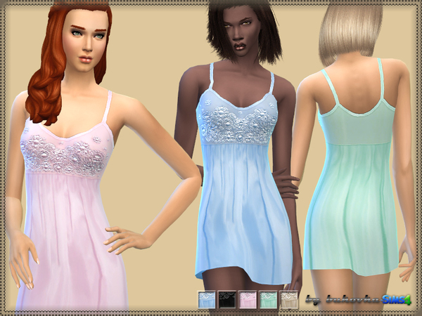 The Sims Resource: Linen female pastel by Bukovka