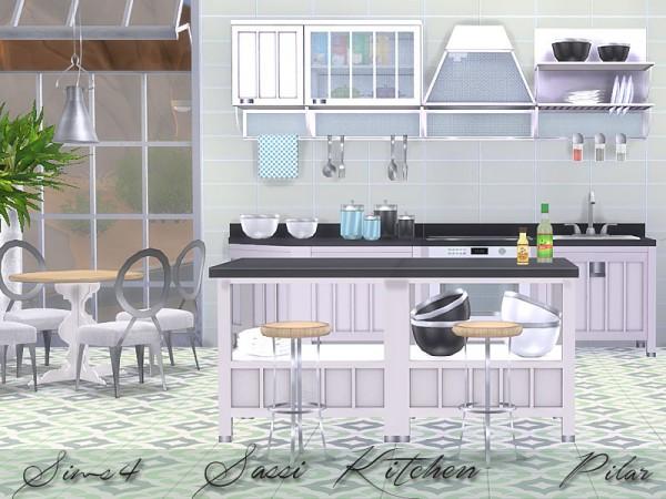 SimControl: Sassi Kitchen by Pilar