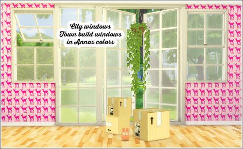 LinaCherie: City windows recolored
