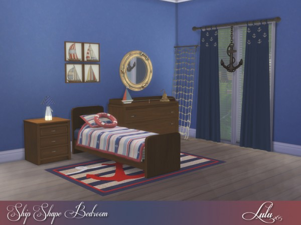 The Sims Resource: Ship Shape Boys Room by Lulu265
