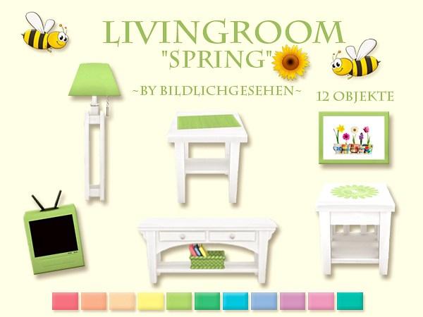 "Akisima Sims Blog: Livingroom ""spring"""