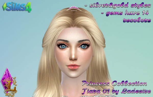 Ladesire Creative Corner: Princess Collection Tiara 01