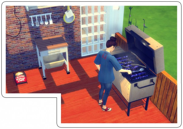 Sims 4 Designs Hob O Chan 3000 Grill Sims 4 Downloads
