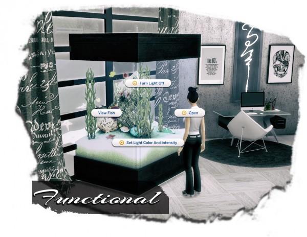 Sims 4 Designs Aquabox 60 Gallons Of Awesome Aquarium