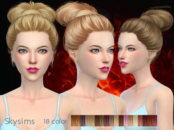Butterflysims: Skysims 164 donation hairstyle