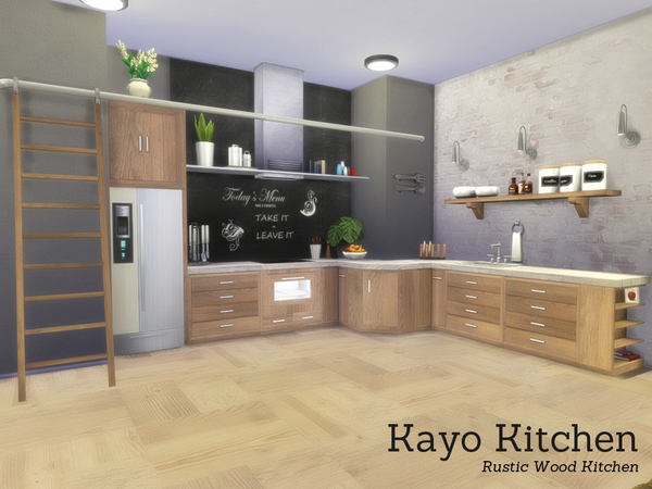 The Sims Resource: Kayo Kitchen by Angela