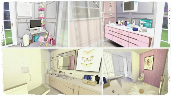 Dinha Gamer: Pink Bedroom