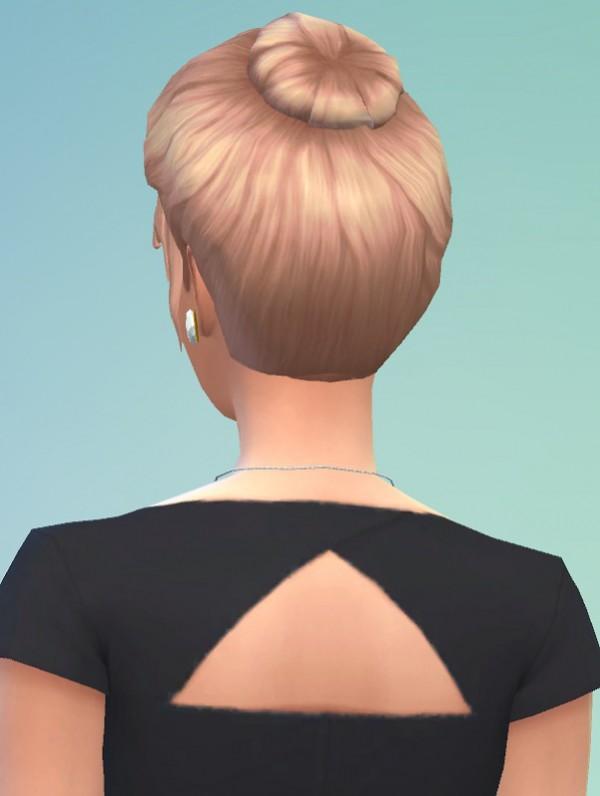 Birkschessimsblog 70s Bun Hair Sims 4 Downloads