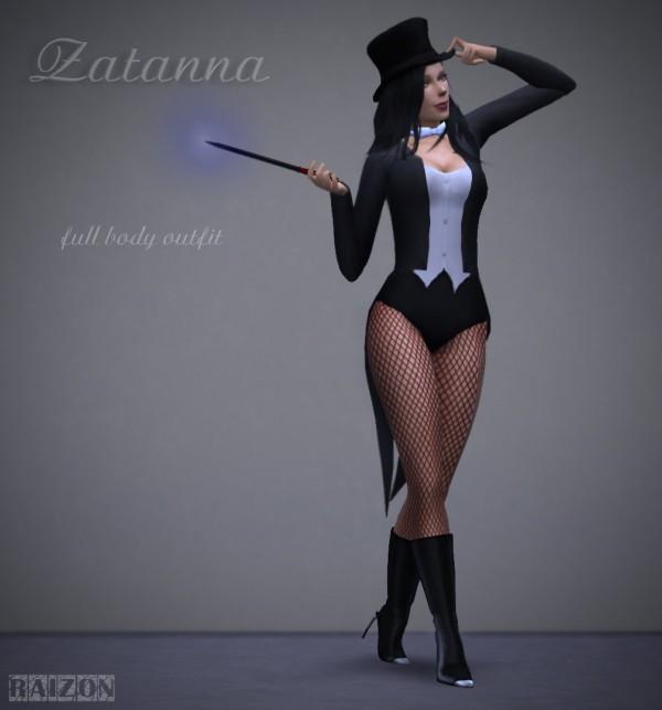 Rumoruka Raizon: Raizon outfit