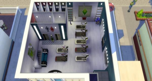 studio sims creation the flash salle de sport sims 4 downloads. Black Bedroom Furniture Sets. Home Design Ideas