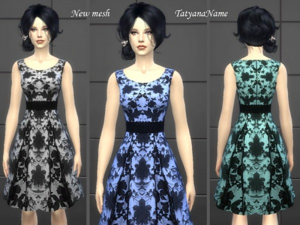 The Sims Resource: Dress 09 by Tatyana Name