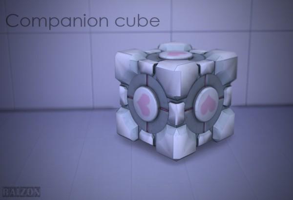Rumoruka Raizon: Companion Cube