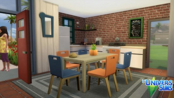 Luniversims: Starter house no CC by chipie cyrano
