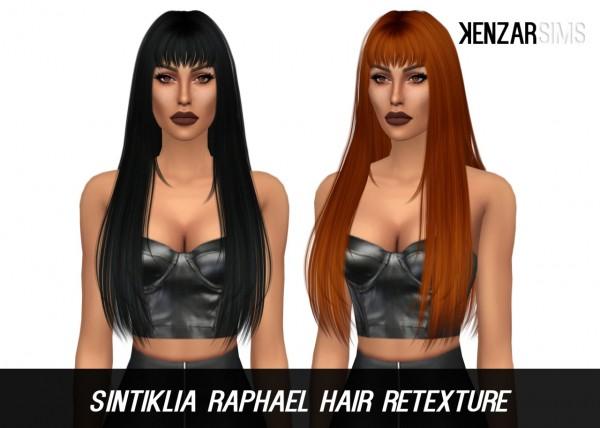 Kenzar Sims: Sintiklia Raphael with bangs retextured