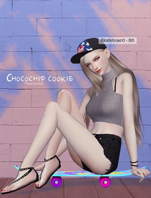 Flower Chamber: Choco Chip Cookie