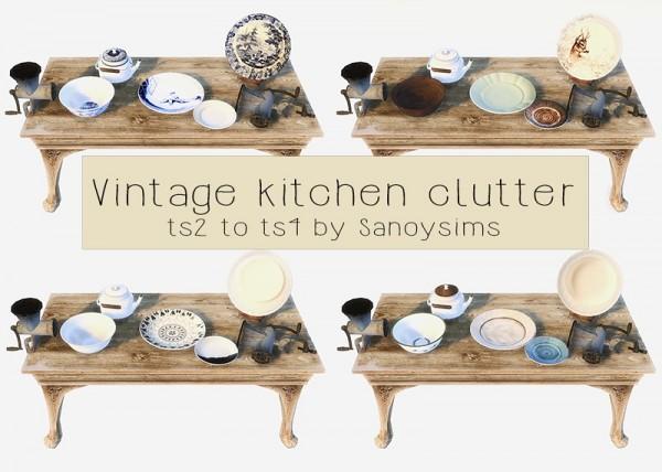 Welcome: Vintage kitchen clutter
