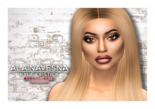 Alaina Vesna: Kylie Lipstick