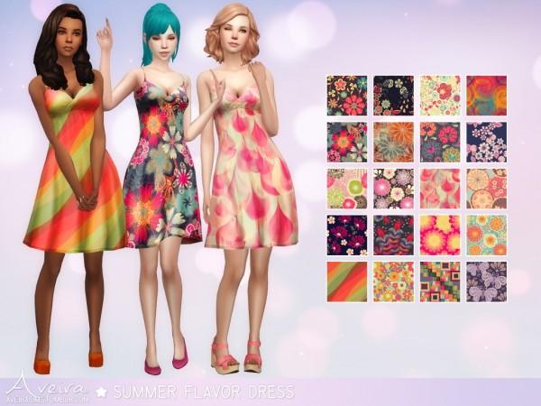 Sims 4 summer dresses