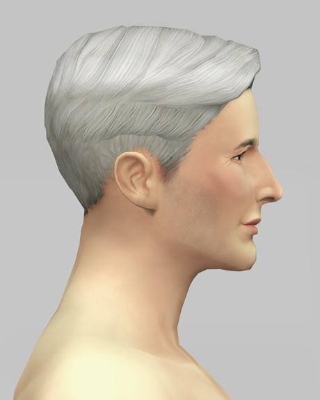Rusty Nail: Short preppy combed hair M