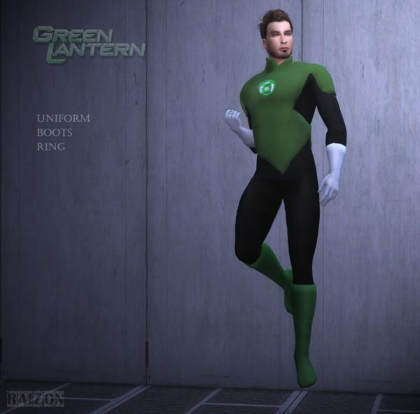 Rumoruka Raizon: Green Lantern