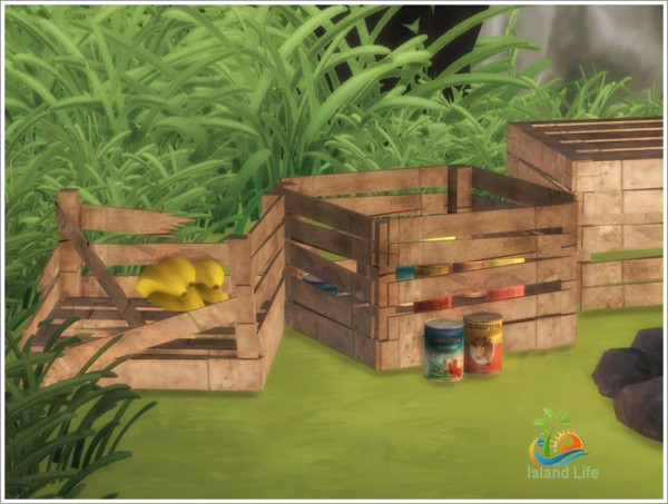 Sims By Severinka Island Life Objects Sims 4 Downloads