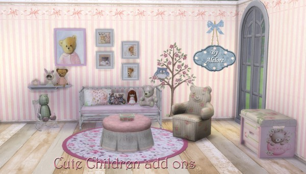 Alelore Sims Blog: Children room Add On