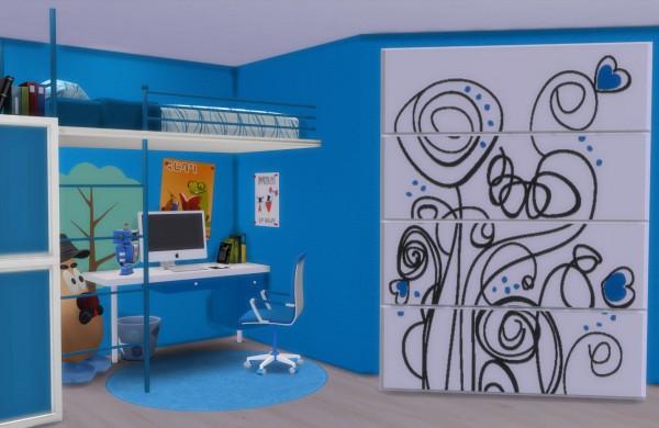 PQSims4: Kids Bedroom Altea
