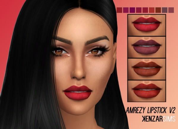 Kenzar Sims: Amrezy Lipstick V1&V2