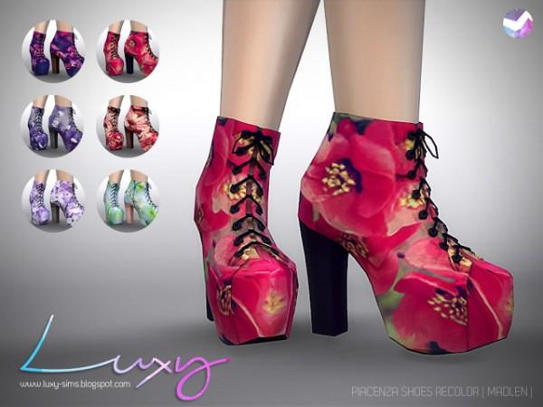 LuxySims: Piacenza Shoes