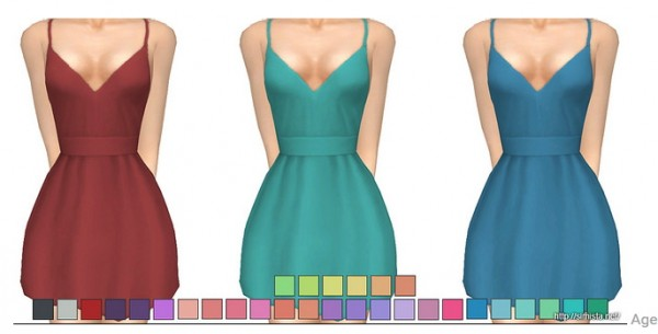 Simista: Shove Dress recolors