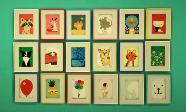 Budgie2budgie: Paintings for kids