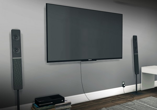 MXIMS: 7500 Followers Gift Part I: TV Wall Mounted TV