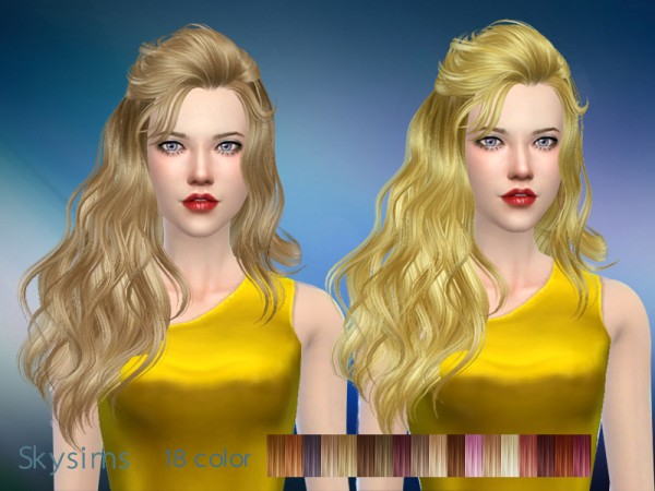 Butterflysims: Skysims 087 donation hairstyle