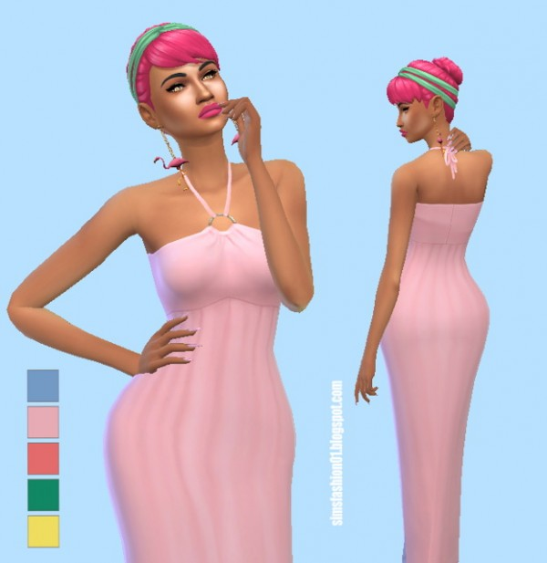 Sims Fashion 01: Dress for summer