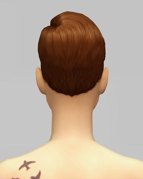 Rusty Nail: Short preppy combed hair F