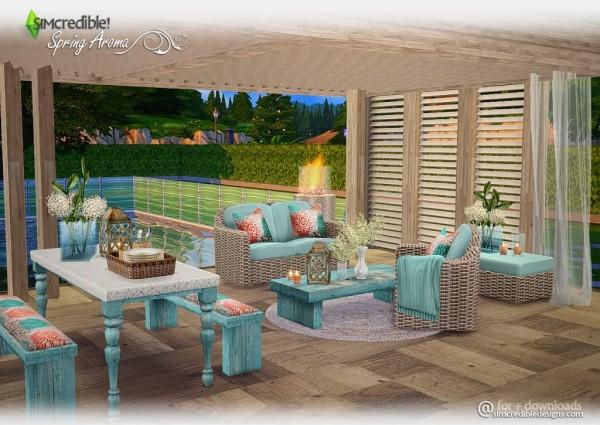 SIMcredible Designs: Spring Aroma outdoor