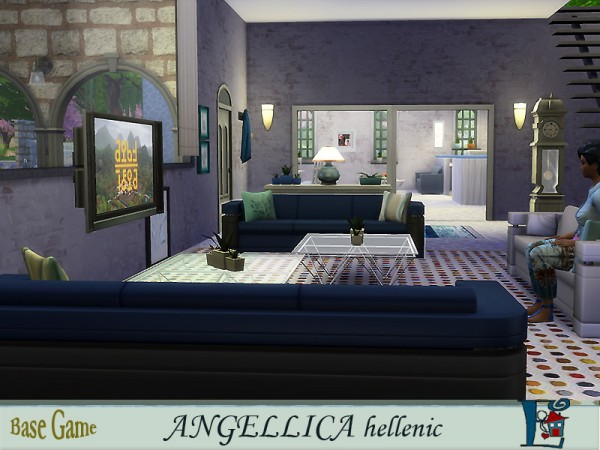 The Sims Resource: Angellica Hellenic Greek by evi
