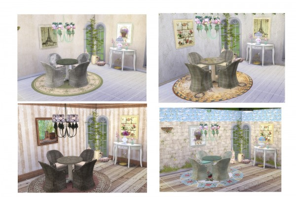Alelore Sims Blog: Vintage spring set