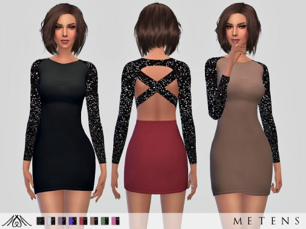 The Sims Resource: Azeilah Dress by Metens