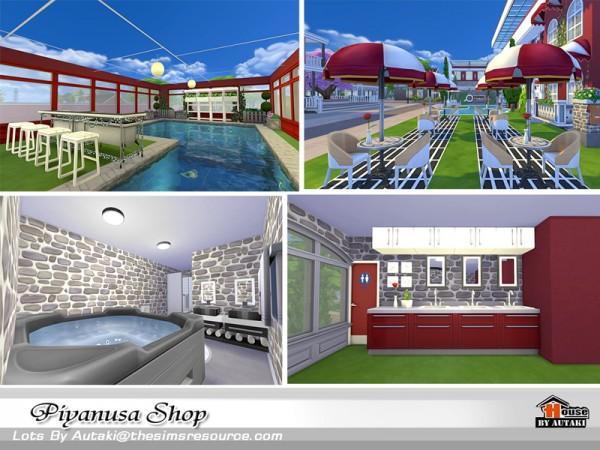 The Sims Resource: Piyanusa Shop by Autaki