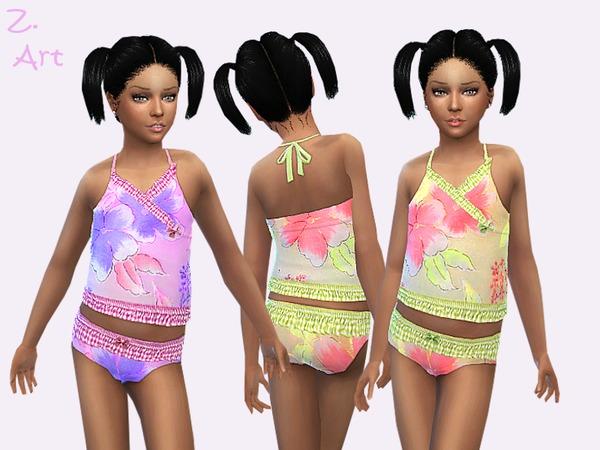 The Sims Resource: Mini Tankini by Zuckerschnute20