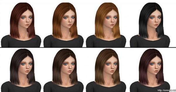 Simista: Antoinette Hair Retextured