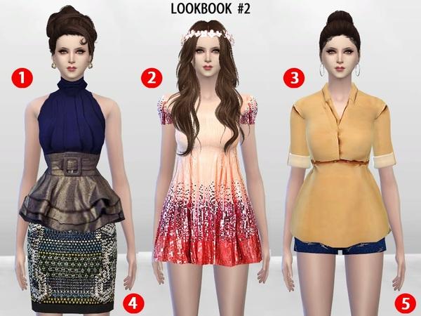 The Sims Resource: McKenzie LookBook Set 2 by McLayneSims