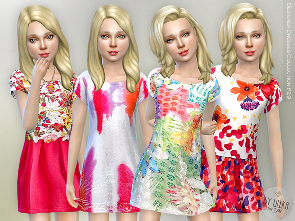 The Sims Resource: Designer Dresses Collection P29 by lillka