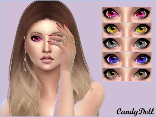 The Sims Resource: Candy Doll Sparkle Eyes by DivaDelic06