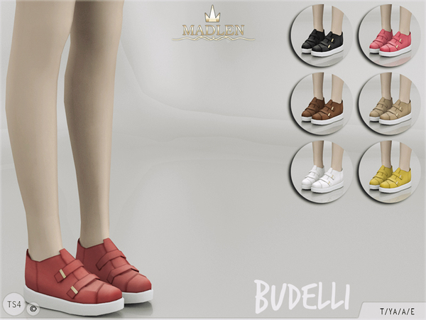 The Sims Resource: Budelli Shoes by MJ95