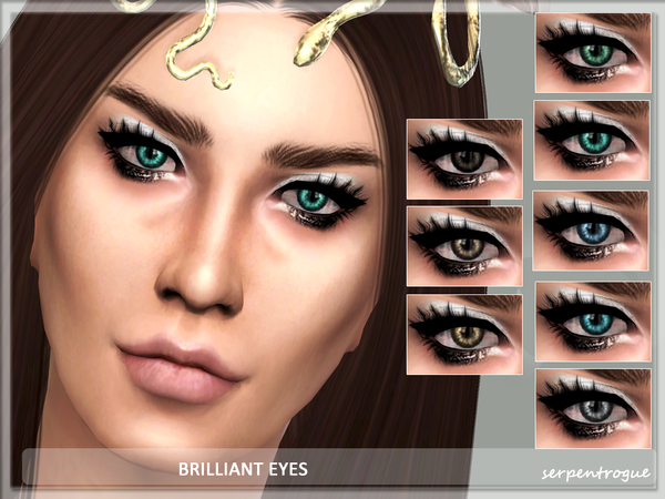 The Sims Resource: Brilliant Eyes by Serpentogue