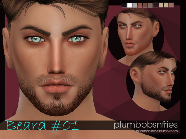 The Sims Resource: Beard 01 by Plumbobs n Fries