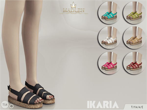 The Sims Resource: Madlen Ikaria Shoes by MJ95