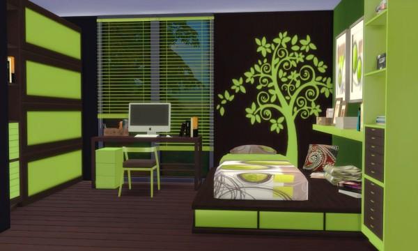 PQSims4: Bedroom Bilbao